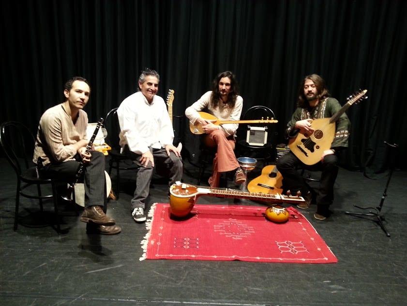 Por la ruta de la seda, cuentos con música para adultos